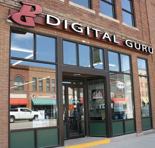 Store front picture of Digital Guru